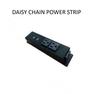 Daisy chain power strip