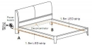 PIR SENSOR-DOUBLE BED