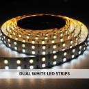 DUAL WHITE LED STRIPS