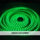 GREEN LED STRIPS