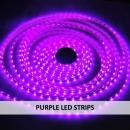PURPLE LED STRIPS