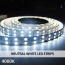 NEUTRAL WHITE LED STRIPS-4000K