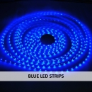 BLUE LED STRIPS