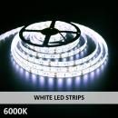 WHITE LED STRIPS-6000K
