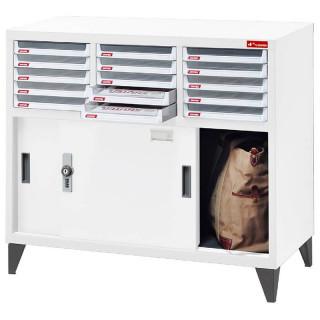 DU-315PD(+FT-10 腳柱/組)密碼型加門檔案資料櫃|樹德櫃|檔案櫃/文件櫃/收納櫃/效率櫃