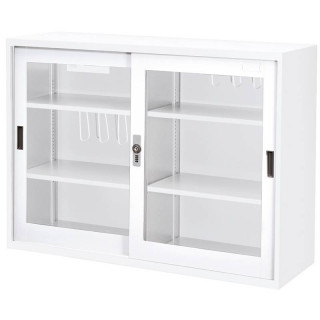 DU-118G 玻璃門-密碼鎖-檔案資料櫃|樹德櫃|四尺櫃-鐵櫃/文件櫃|檔案櫃/收納櫃