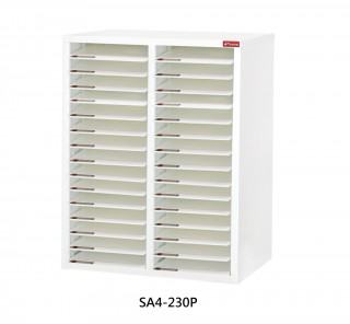 SA4-230P S型層板抽-樹德櫃|醫院診所-病歷整理櫃|A4S-230P 開放式 效率櫃-資料櫃-文件櫃