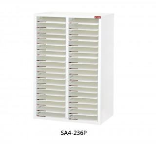 SA4-236P S型層板抽-樹德櫃|醫院診所-病歷整理櫃|A4S-236P 開放式 效率櫃-資料櫃-文件櫃