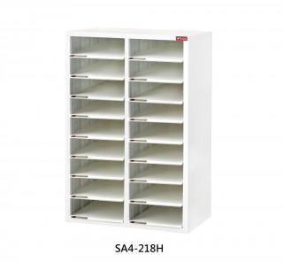 SA4-218H S型層板抽-樹德櫃|醫院診所-病歷整理櫃|A4S-218H 開放式 效率櫃-資料櫃-文件櫃