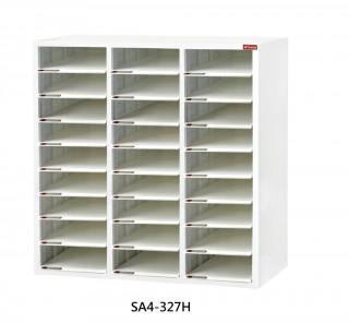 SA4-327H S型層板抽-樹德櫃|醫院診所-病歷整理櫃|A4S-327H 開放式 效率櫃-資料櫃-文件櫃