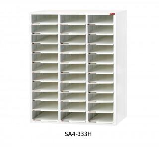 SA4-333H S型層板抽-樹德櫃|醫院診所-病歷整理櫃|A4S-333H 開放式 效率櫃-資料櫃-文件櫃