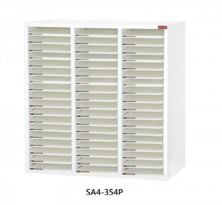 SA4-354P S型層板抽-樹德櫃|醫院診所-病歷整理櫃|A4S-354P 開放式 效率櫃-資料櫃-文件櫃
