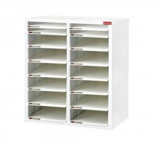 SA4M2-14X2 S型層板抽-樹德櫃|醫院診所-病歷整理櫃|A4SM2-14X2 開放式 效率櫃-資料櫃-文件櫃