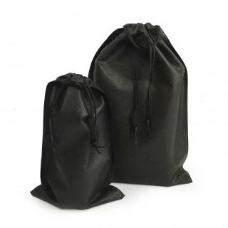 S22 黑色不織布束口袋