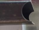 沖管(半圓)