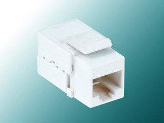 Cat 5E 90° Mini Unshielded Keystone Jack