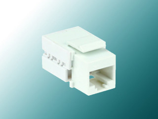 Cat 5E 90° Unshielded Keystone Jack
