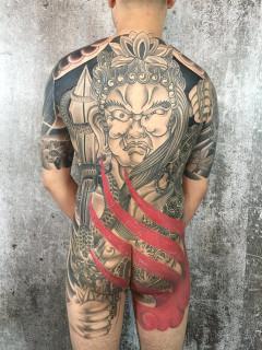 明王 刺青 不動