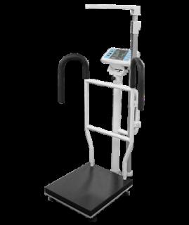 BW-2228MH扶手型電子身高體重秤(含電子尺)