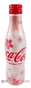 可口可樂曲線瓶(櫻花版)250ml【4902102114547】