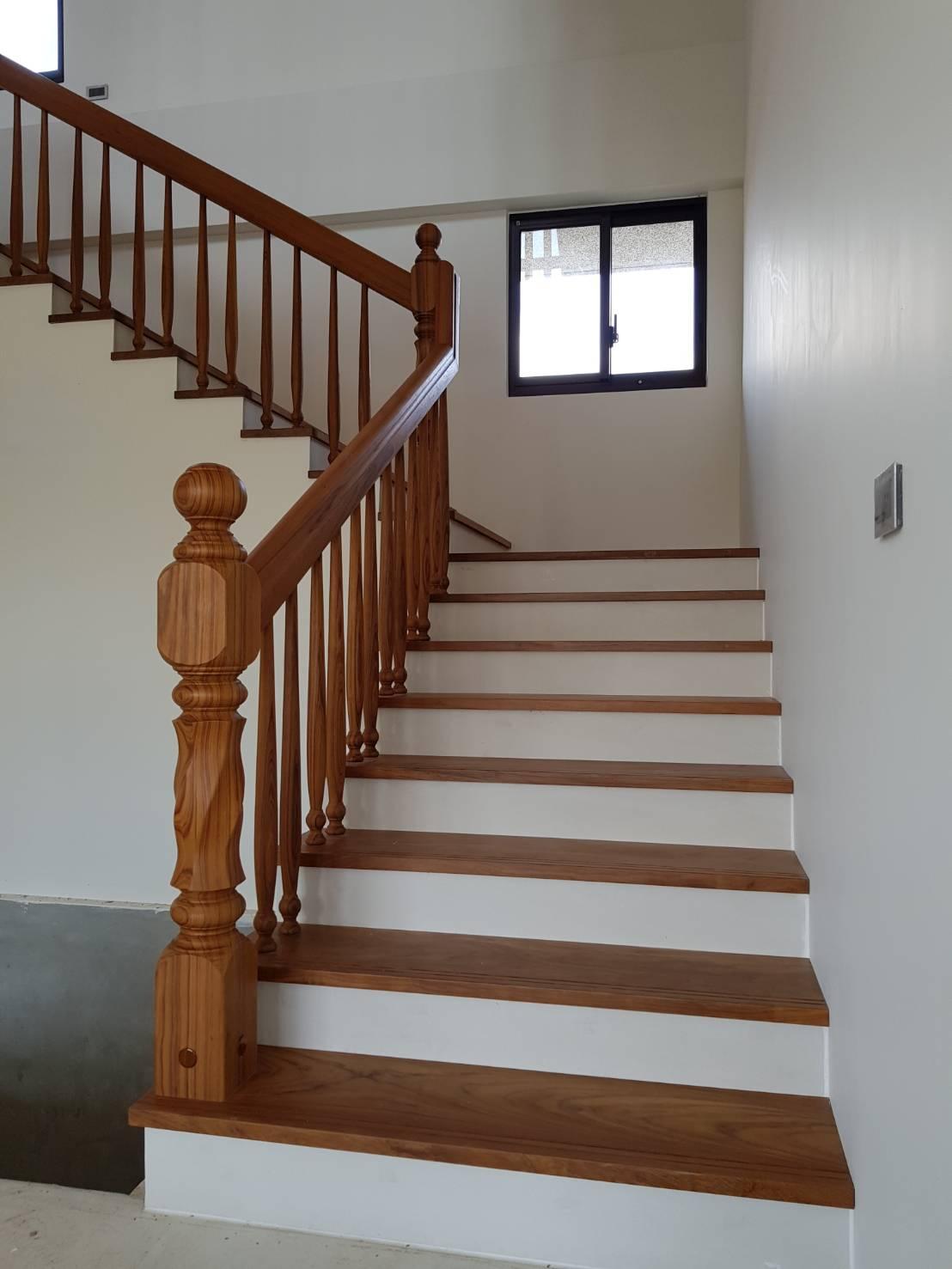 櫸木扶手樓板