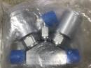 6LVV-P1V222P-AA 隔膜密封雙閥3端口一體式,1V通路,1/4英寸母VCR接頭