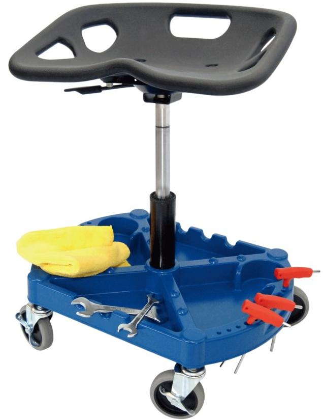 4IN 4 wheels Adjustable Tool Stool