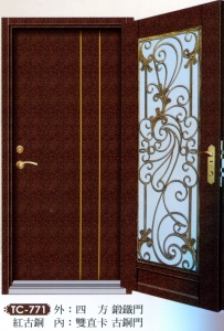 藝術雙玄關門4