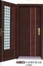 雙彩皮磚雙玄關門1