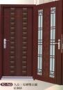 雙彩皮磚雙玄關門4