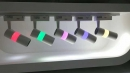 雙色軌道燈