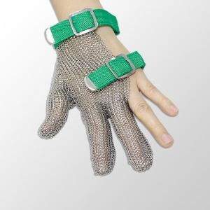 三指式鋼環手套 XS
