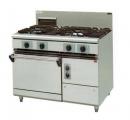 JYTDF-2275B 二主二副一烤箱西餐爐