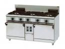 JYTDF-3275B 三主二副二烤箱西餐爐