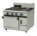 JYTDF-4075B 四主一烤箱西餐爐