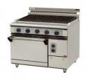 BBQ-JY9075B 烙紋一烤箱西餐爐
