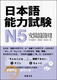 日本語能力試験N5文法總整理