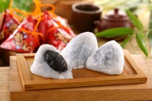 芝麻冰心粽