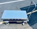不鏽鋼白鐵升降台車