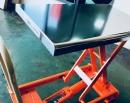 不鏽鋼白鐵面板升降台車