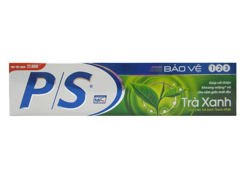 P/S牙膏(綠茶葉123)190g/36入