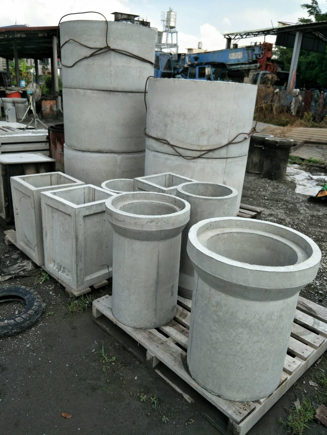 水泥製手製管