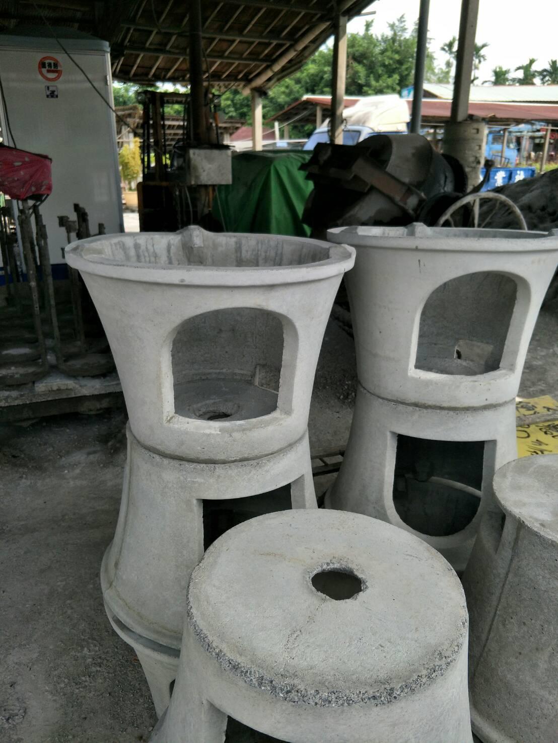 水泥製灶底座