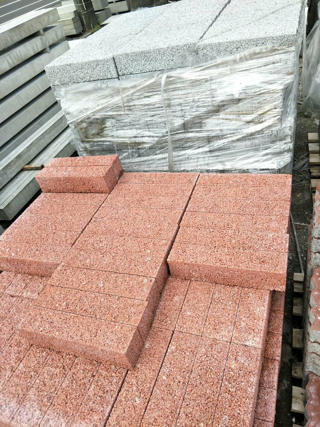 水泥製圍牆磚(紅)