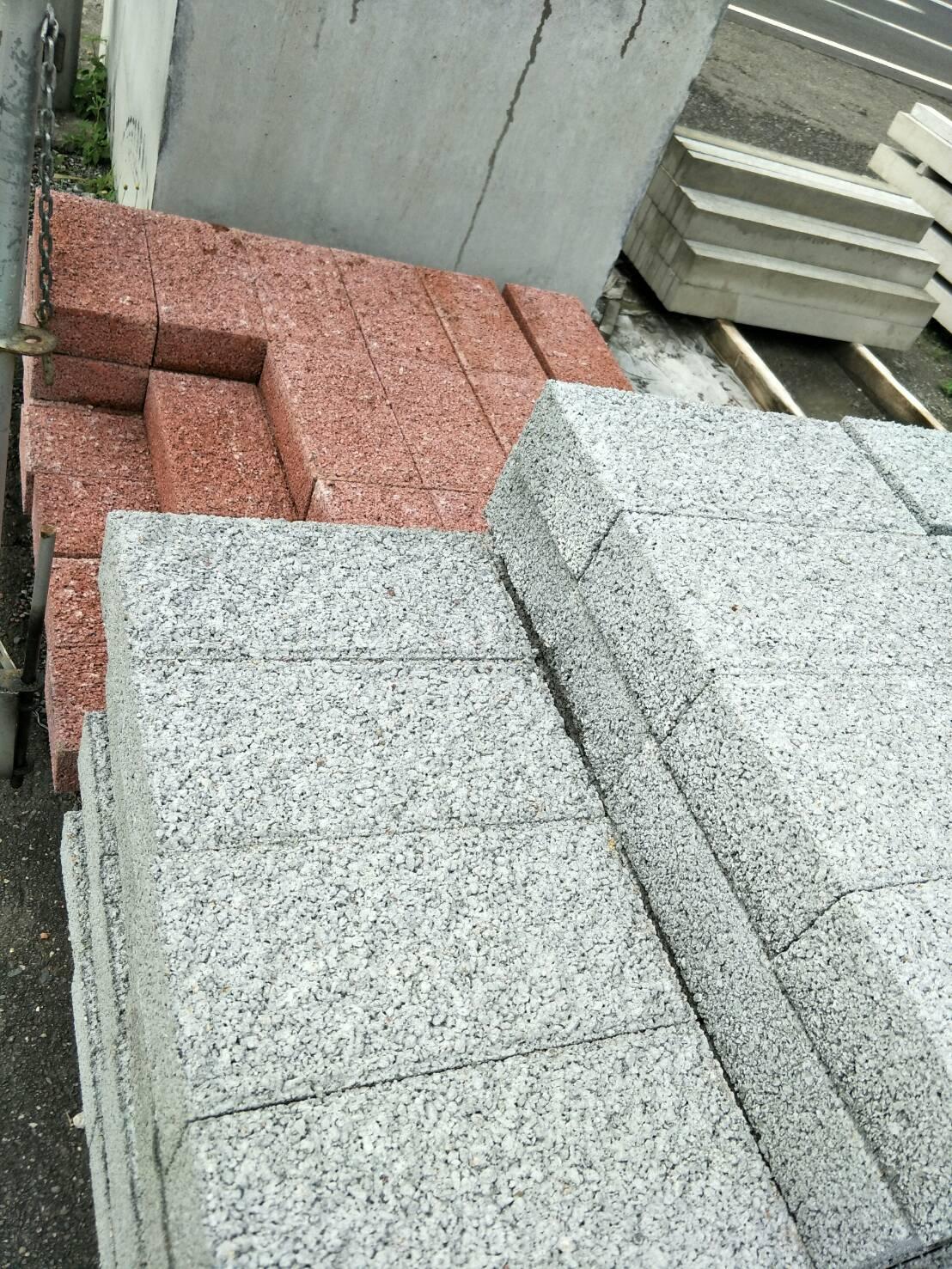 水泥製圍牆磚(灰)