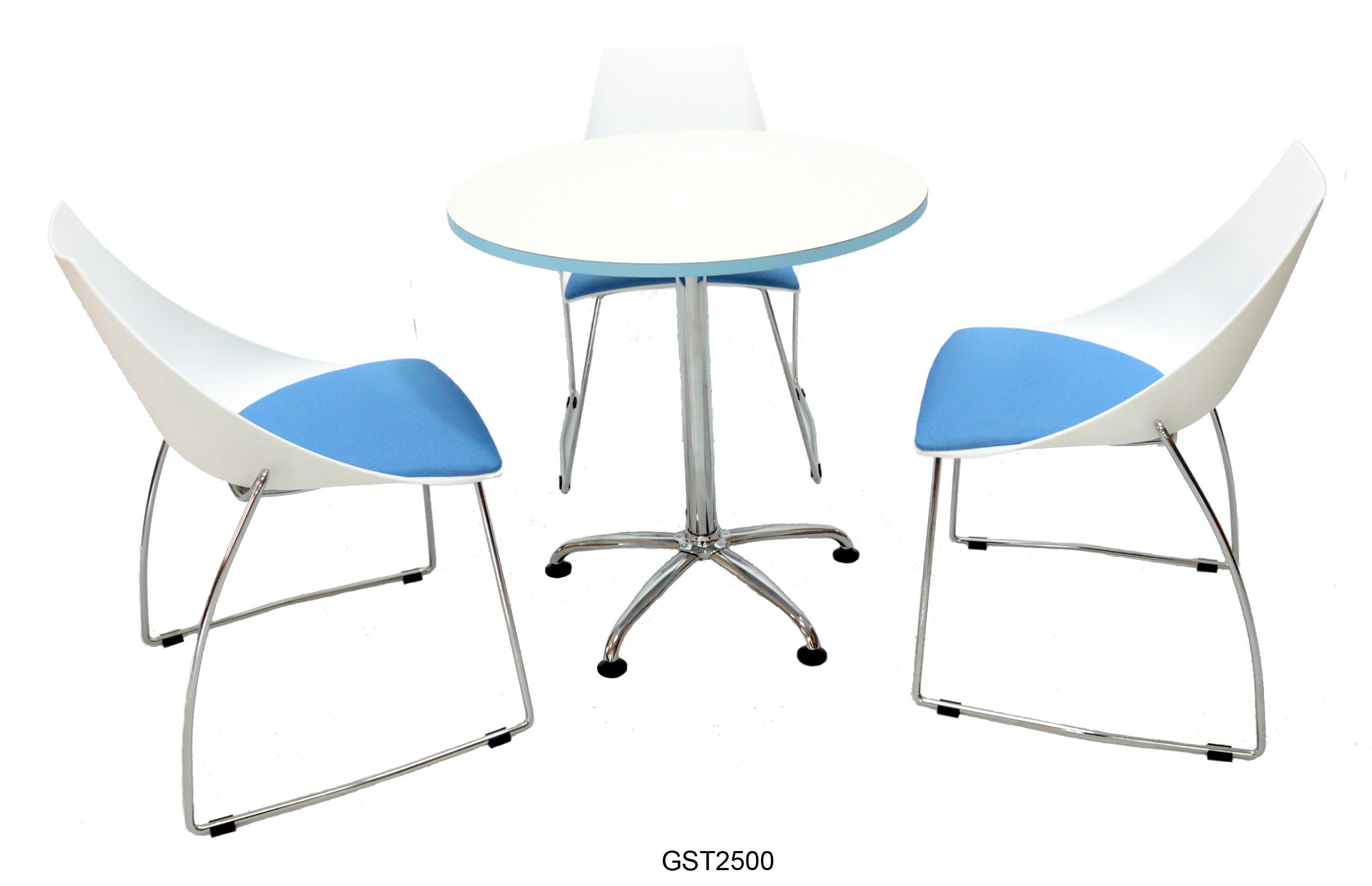 CH965-藍墊+T2500洽談桌