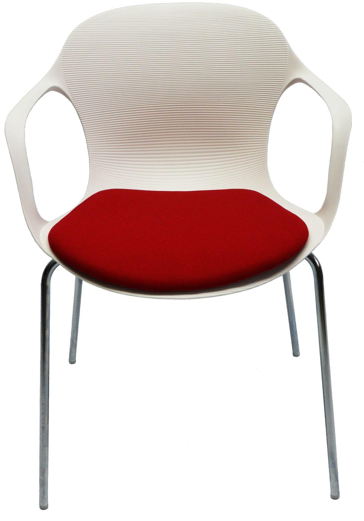 GS1401A白扶手-紅墊