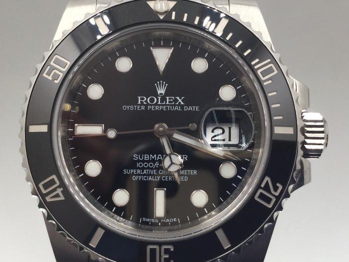 勞力士ROLEX 116610LN 盒單齊全 蠔式恆動日曆型機械表-黑水鬼/40mm 購買日