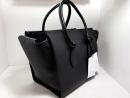 時尚精品 CELINE 黑色小牛皮手提包 整體品相如新 保證真品 附原廠防塵袋+小手冊