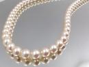 日本養珠項鍊 珠圓潤滑 慛燦奪目皮光閃耀 真珠直徑6-6.5mm 顆顆精選 天然淡水養珠正圓